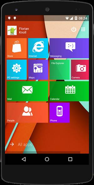 Free Download Launcher Android Tema Windows 10 Keren .APK Terbaru Gratis