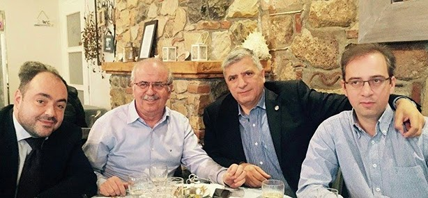 Συνάντηση ...κορυφής για τον Αντώνη Πατέλη (ΦΩΤΟ)
