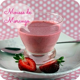 Strawbarry mousse