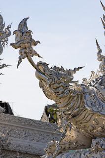Detail von Wat Rong Khun