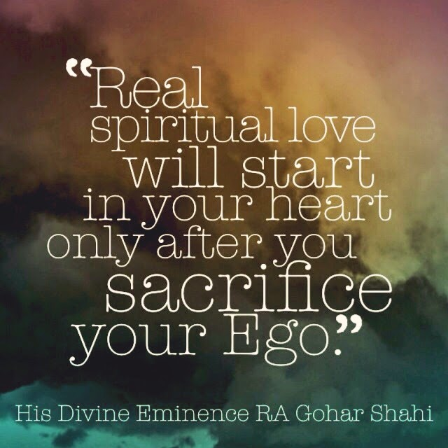 The official mfi blog quote of the day real spiritual love will real spiritual love will start in your heart only after you sacrifice your ego his divine eminence ra gohar shahi thecheapjerseys Gallery
