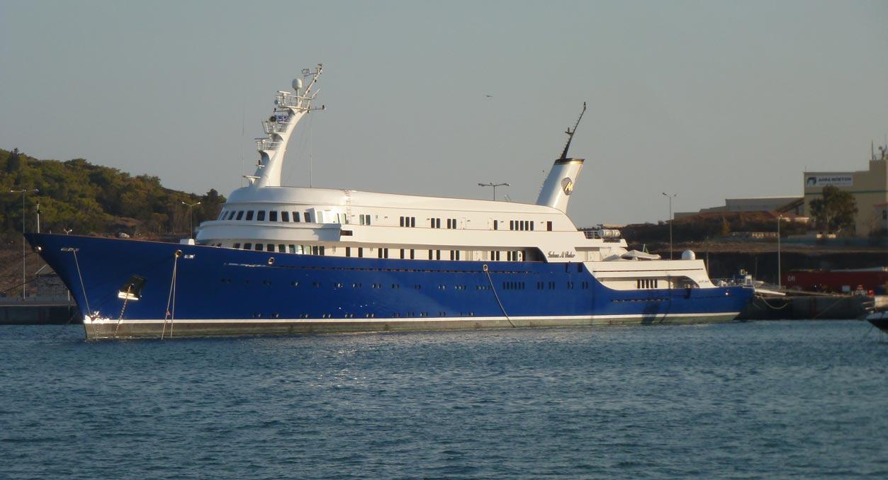 ISSHAM AL BAHER Superyacht