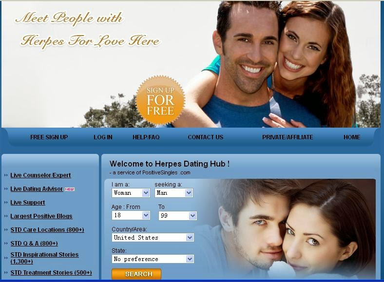 Herpes dating website canada