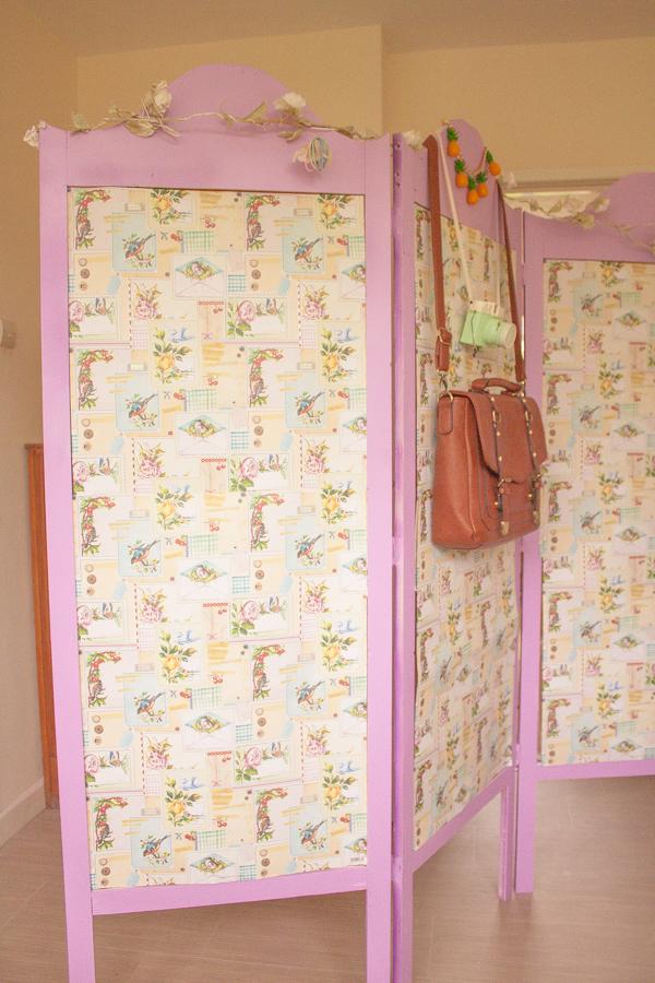 Violet Room Divider