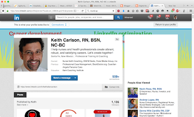 Nurse Keith's profile on LinkedIn
