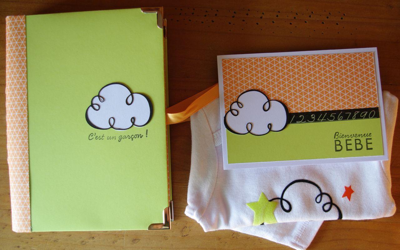 laescrap cadeau de naissance gar on nuage. Black Bedroom Furniture Sets. Home Design Ideas