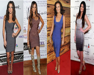 Celebrities Bandage Dresses, Celebrities Bandage Dresses Pics