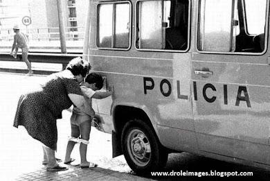 policia not afraid me !