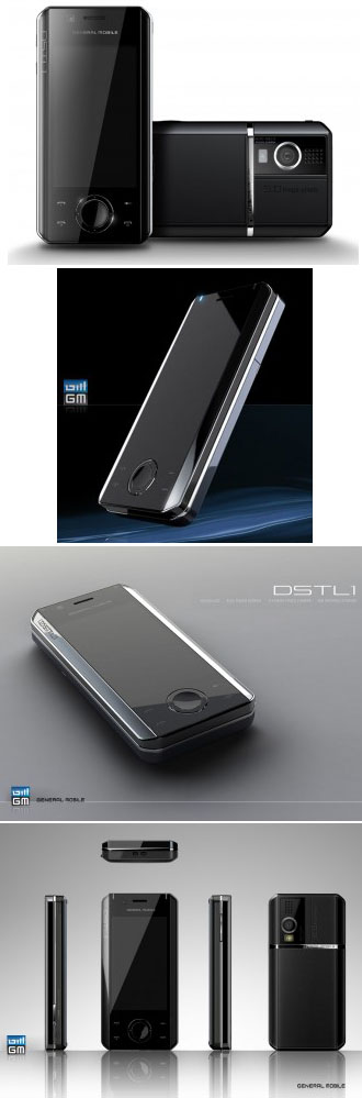 General's Mobile DSTL1 - dual-SIM Android phone to debut at MWC 3