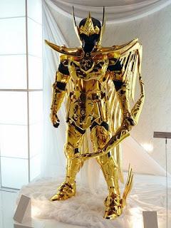 Cavaleiros do Zodíaco - Armaduras Tamanho Real