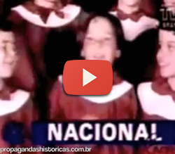 Propaganda do Banco Nacional para o ano de 1995.