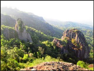 gunung nglanggeran wonosari