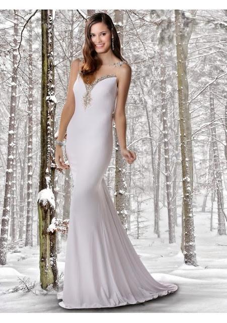 chiffon evening dress
