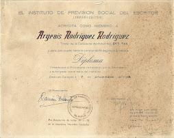 INSTITUTO DE PREVISIÓN SOCIAL DEL ESCRITOR