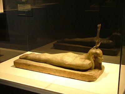 Osiris resucitando - Museo Egipcio de El Cairo