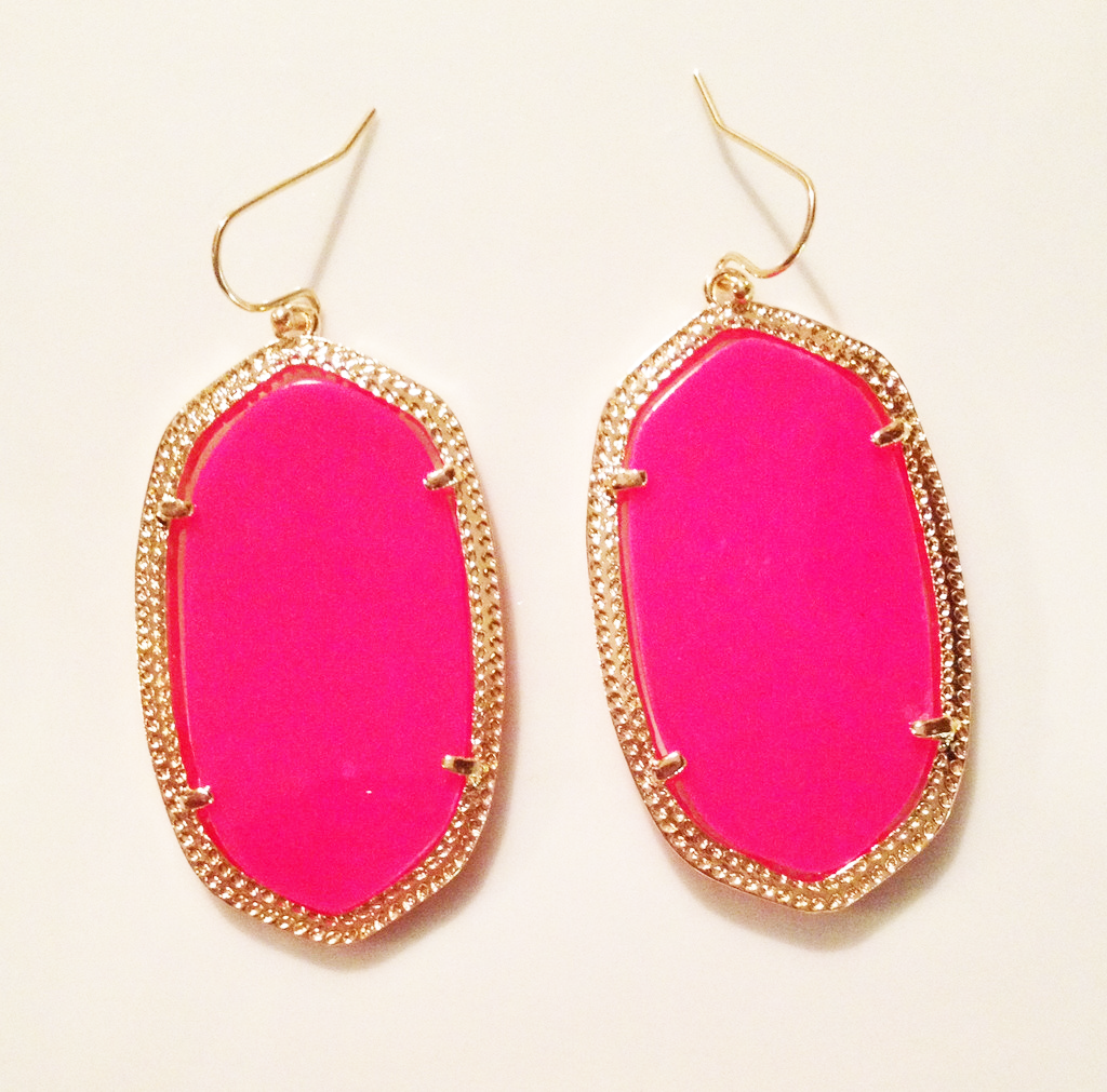 kendra scott inspired earrings