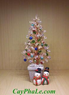 Cây pha lê Noel - Mã 7.K