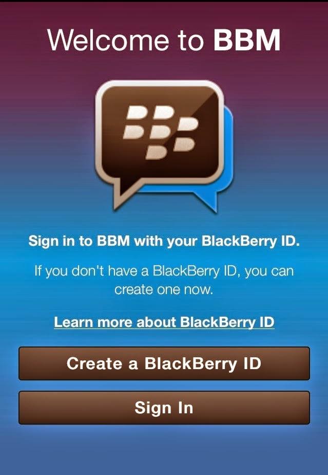 Cara Sign Out Dari BBM Pada Android