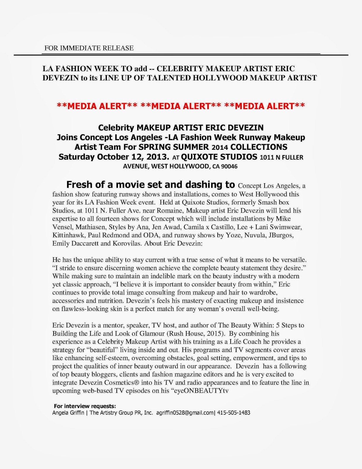 Latest Celebrities News & Press Release - Free Celebrities ...