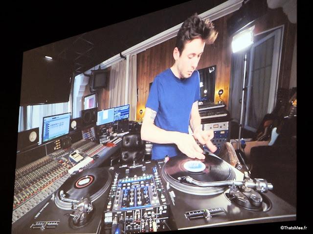 salle cours de scratch vidéo tuto, Expo Hip-Hop Institut du monde Arabe Akhenaton Paris