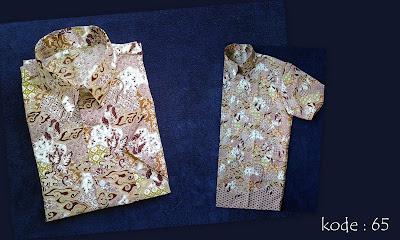 Baju Batik Pria 65