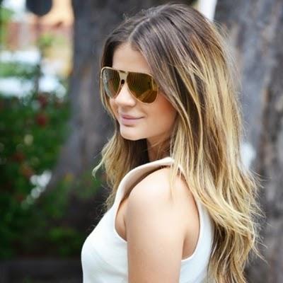 luzes para cabelos compridos