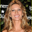 Gisele Bundchen Long Curly Pullback Hairstyle
