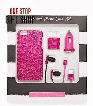 crystal-studded iPhone accessories