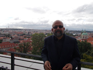 """The  Panoramic view of Prague from  """"PRAGUE CASTLE"""""""