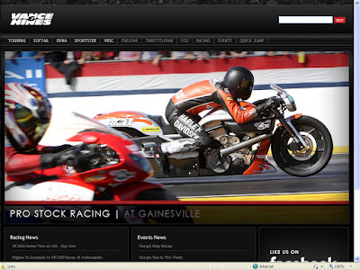 VANCE & HINES, WEBSITE