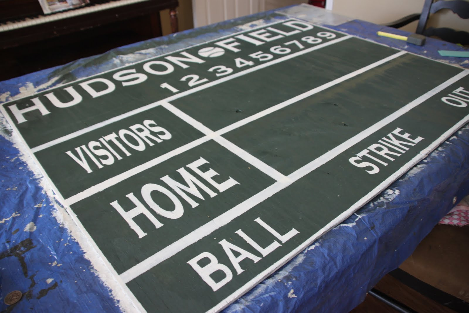 That Village House Baseball Scoreboard