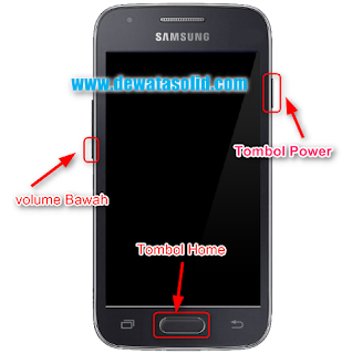 Cara Flash Samsung S1 GT I9000 Via Odin