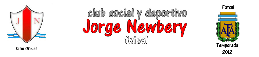 .: Club Social y Deportivo Jorge Newbery Futsal | Sitio Web Oficial :.