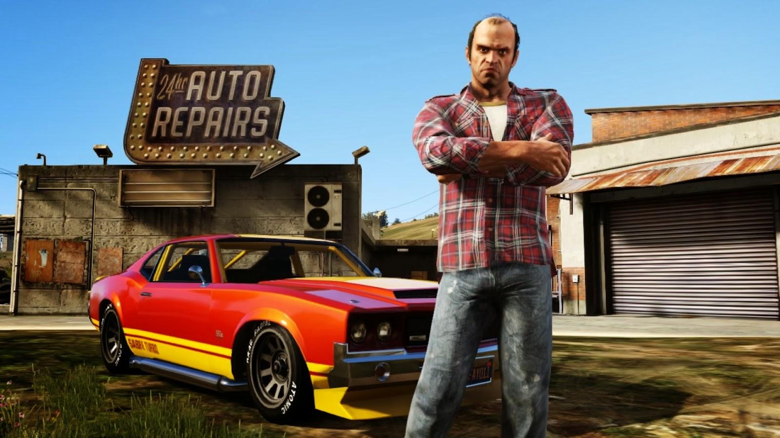 Trevor, uno de los personajes de GTA 5