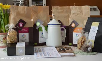 Gewinnt ein großes Bio Kaffee- und Kekspaket aus den Troxler Werkstätten