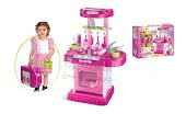Portable kitchen @ pink