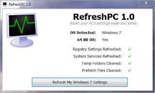 Cara Mengembalikan Windows Seperti Semula Tanpa Instal Ulang