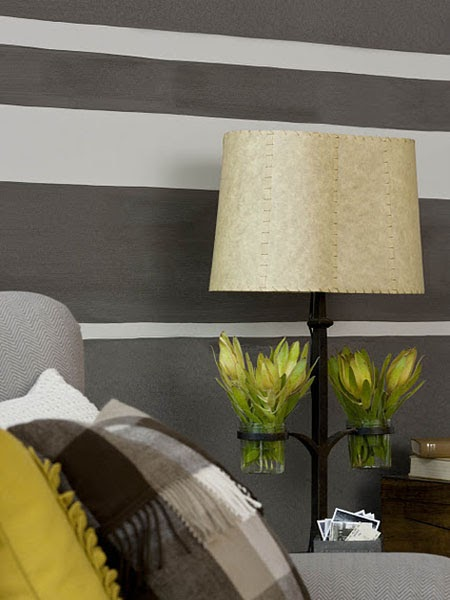 Silver foxes decorating with gray it 39 s not just for hair for Painting horizontal stripes on walls tips
