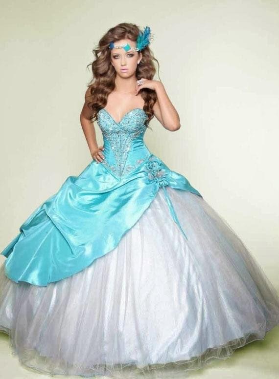 Lindos vestidos de 15 años estilo princesa | Moda 2017 | Vestidos ...