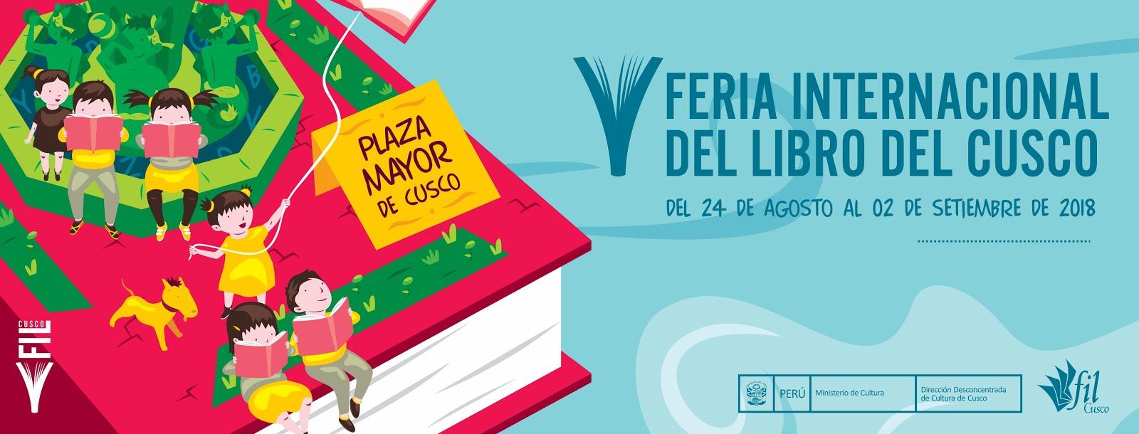 En V Feria Internacional del Libro de Cusco (24 agosto - 2 setiembre 2018)