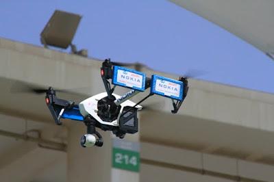 Drones usados por Nokia