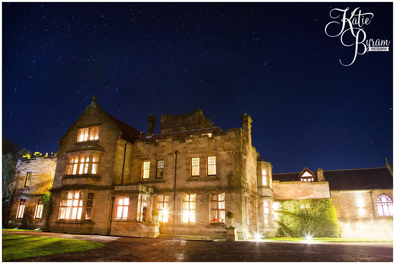 A Twinkly Light And Starry Sky Wedding At Ellingham Hall Maddie