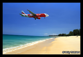 Air Asia at Phuket Airport
