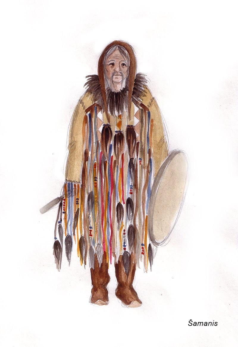 Своими руками костюм-шаман 36