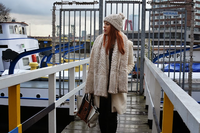 fashion-bridge.blogspot.com, fashion-bridge blog, street style, winter whites, Isabel Marant boots, Phillip Lim Pashli bag, white coats, red head, read hair, street style