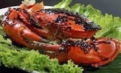 Resep praktis (mudah) masakan seafood kepiting lada hitam enak (lezat)