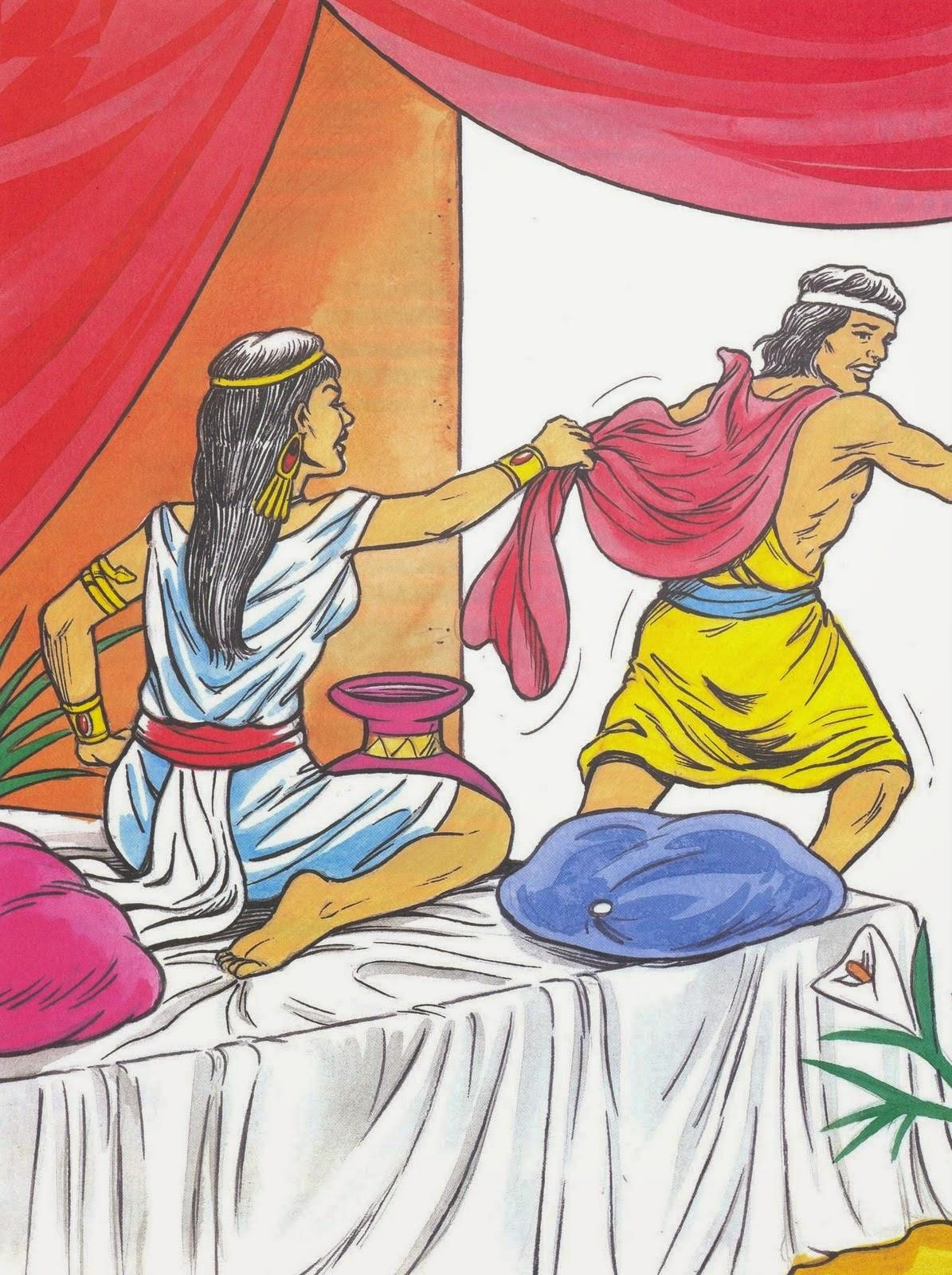 José e a esposa de Potifar