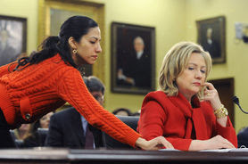 Huma Abedin and her girlfriend