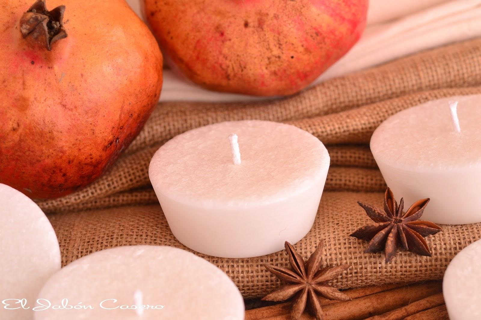 velas de cera vegetal natural para bodas