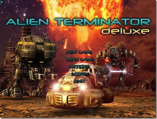 Game Alien Terminator Deluxe